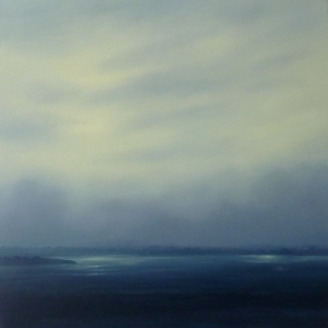 Bay, 2010, oil on linen, 50x50 cms