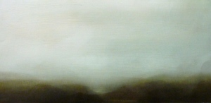 Range 2 2013 oil on board 28 x 35.5