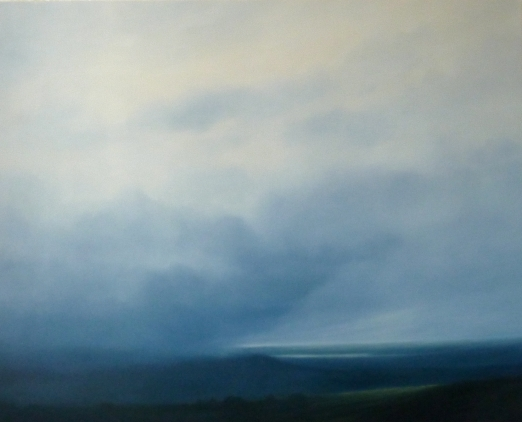 Storm Season  2010  oil on canvas 122 x 153cms